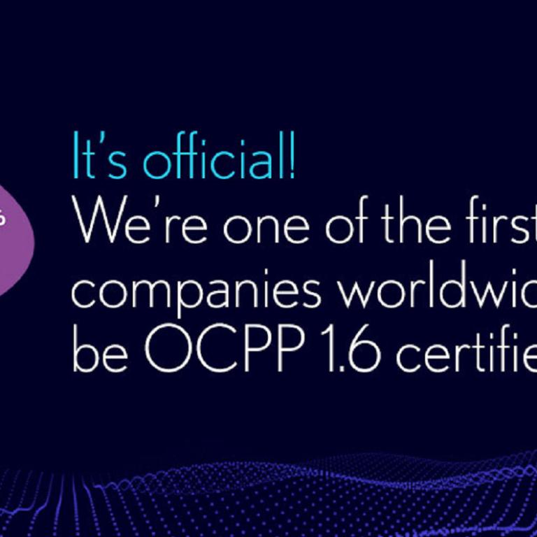 Driivz OCPP 1.6 certified
